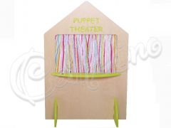 PUPPET THEATER LIME GREEN
