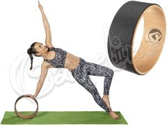 ΡΟΔΑ YOGA PILATES WHEEL 32ΕΚ