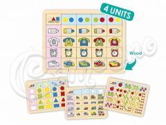 LOGIC GAME SET 1 (4 ΠΙΝΑΚΕΣ)