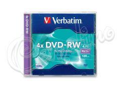 DVD-RW VERBATIM 1 TEM ΘΗΚΗ